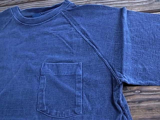 Good On good short sleeve heavyweight Raglan pocket T shirt ( ピグメントダイ ) S/S HEAVY RAGLAN POCKET TEE (PIGMENT DYE)