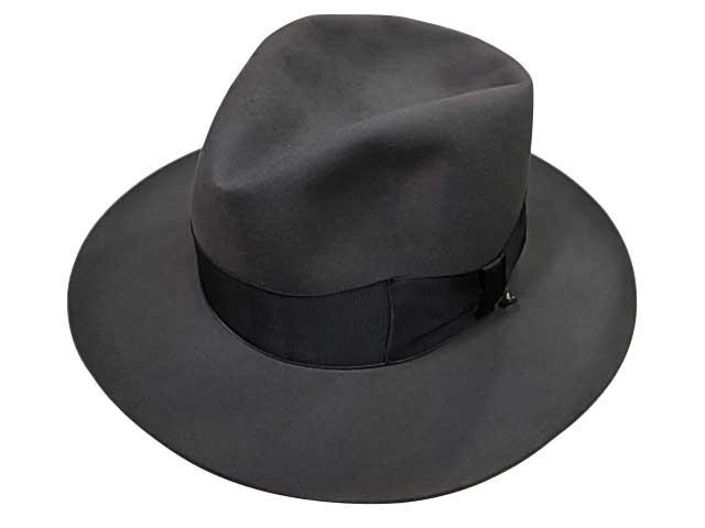 GLAD HAND グラッドハンド HAT JHON G ビーバーハット 2色(C.GRAY/BEIGE)