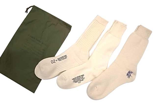 Nigel Cabourn ナイジェル・ケーボン 3-PACK ARMY SOCKS 3P アーミー ソックス 靴下 NATURAL(3-102) Made in JAPAN