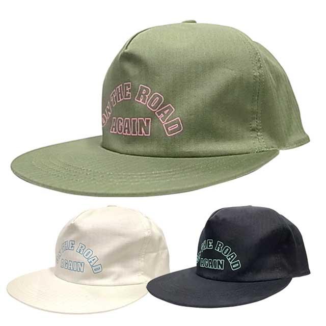 GOWEST ゴーウエスト ON THE ROAD AGAIN CAP オンザロードキャップ 帽子 GO WEST