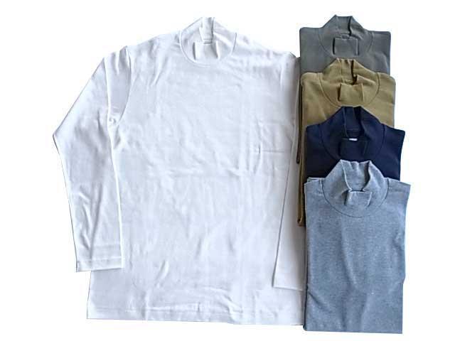 ANATOMICA アナトミカ MOCK NECK TEE L/S 550 モックネック Tシャツ MENS メンズ LADY'S レディース
