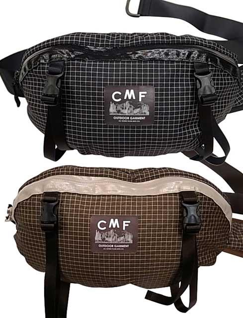 COMFY OUTDOOR GARMENT コムフィ SPECTRA FIBER WAIST BAG ウエストバッグ 2色(BLACK/BROWN)