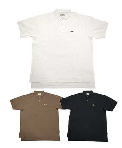 Braggin' Dragon ブラギン ドラゴン POLO SHIRTS ポロシャツ 3色(NATURAL/BLACK/BROWN)
