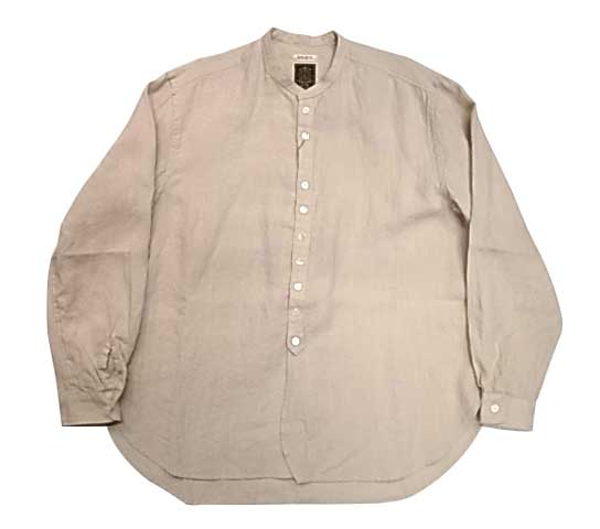GYPSY&SONS ジプシー&サンズ LINEN BUTTON SHIRTS リネン ボタン シャツ BEIGE