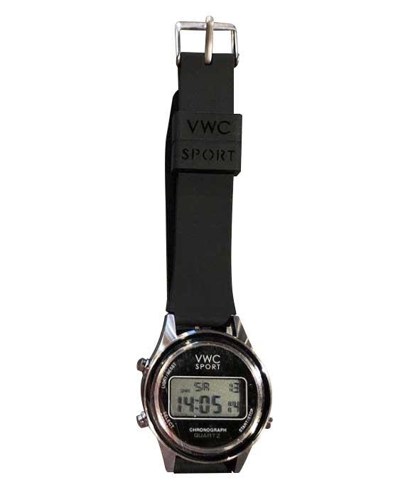 VAGUE WATCH ヴァーグ ウォッチ DG2000 デジタル ウォッチ SILVER/BLACK 腕時計