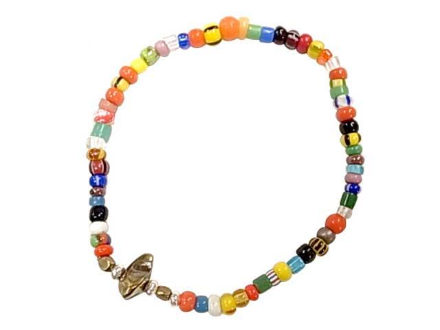 Sunk サンク Christmas Beads Bracelet クリスマスビーズ ブレスレット アンティークビーズ