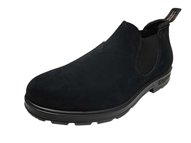 BLUNDSTONE ブランドストーン 1605 ORIGINAL SLIP ON SHOE オリジナルスリッポンシューズ スェード Black ブラック 本革 MENS メンズ サイドゴア