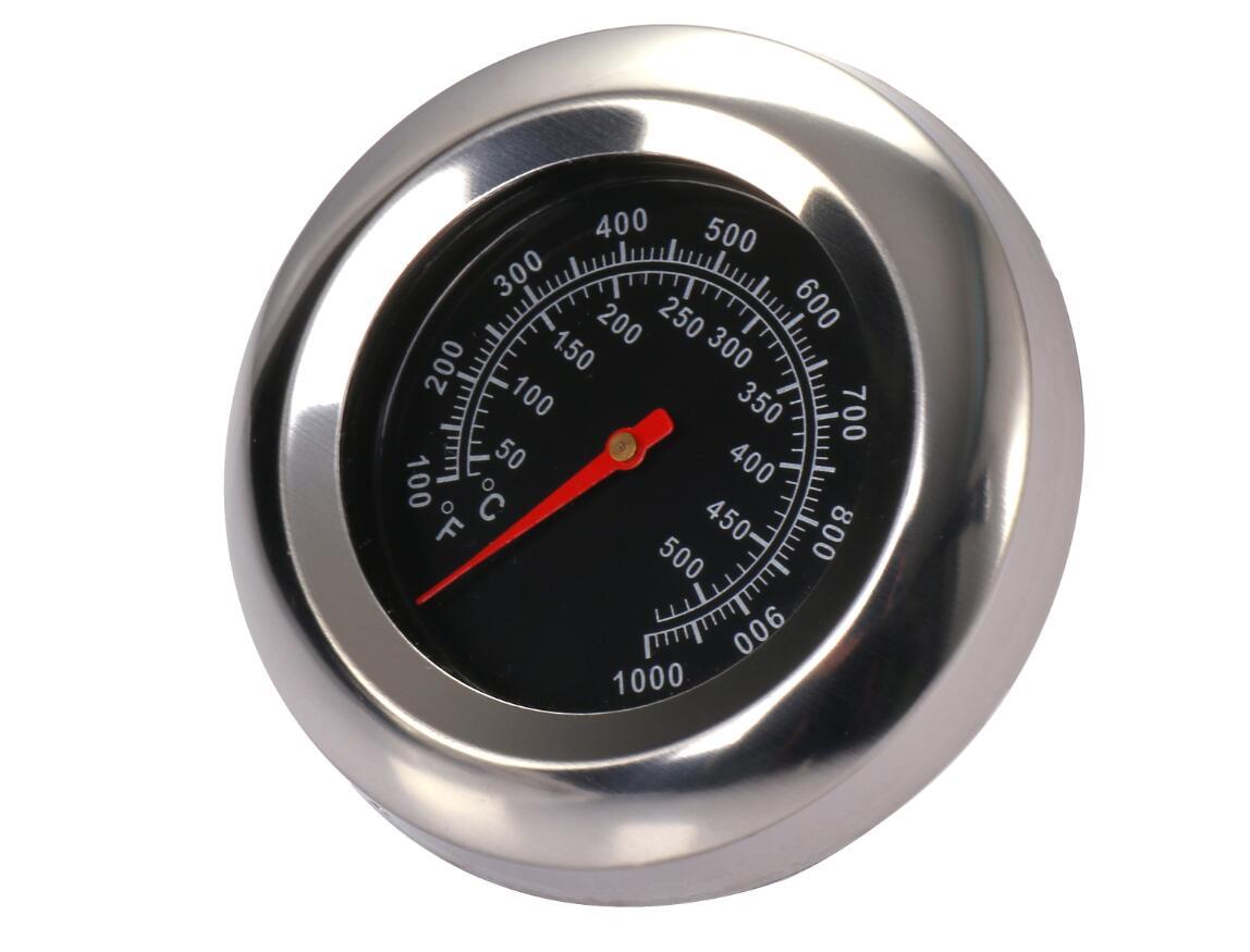 返品送料無料 ストーブ温度計 スモーカー温度計 バーベキュー用 ステンレス製 温度計 ブラック 50-500℃ ※ラッピング ※ 温度ゲージ 燻製 喫煙温度計 ピザ窯 送料無料 mak-b59 屋外 アウトドア 薪ストーブ