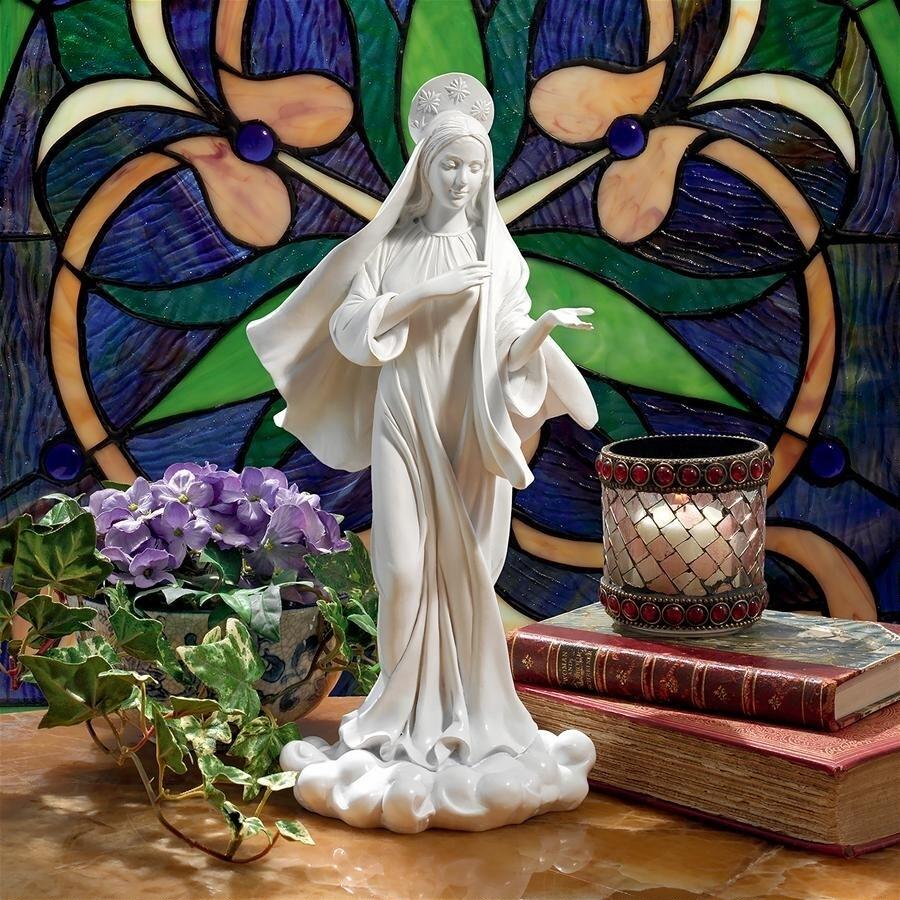 アーティスト/エヴリン・メイヤー・ハートリー作 無償の愛 聖母マリア像 彫像 彫刻(輸入品)