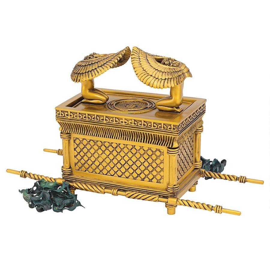 デザイン・トスカノ製 契約の聖櫃 箱置物、彫刻 彫像/ Ark of the Covenant Statue(輸入品)