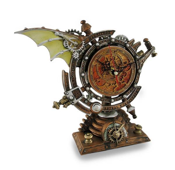 ストームグレイブ クロノメーター スチームパンク風 テーブル置き 時計 彫像/ Celestial Chronometer Steampunk Desk Clock(輸入品)