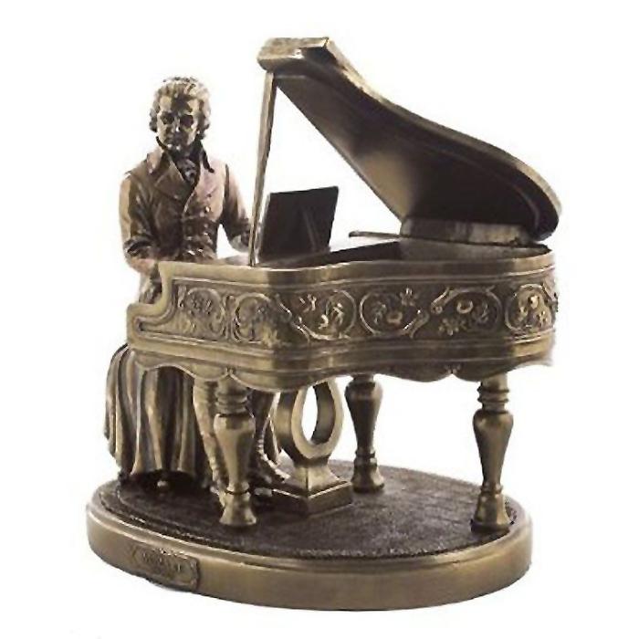 モーツァルト彫像 ブロンズパウダーキャスト製