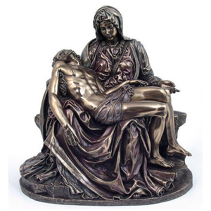 ミケランジェロ作 ピエタ 像 サン・ピエトロ大聖堂 ブロンズ風 Michelangelo's