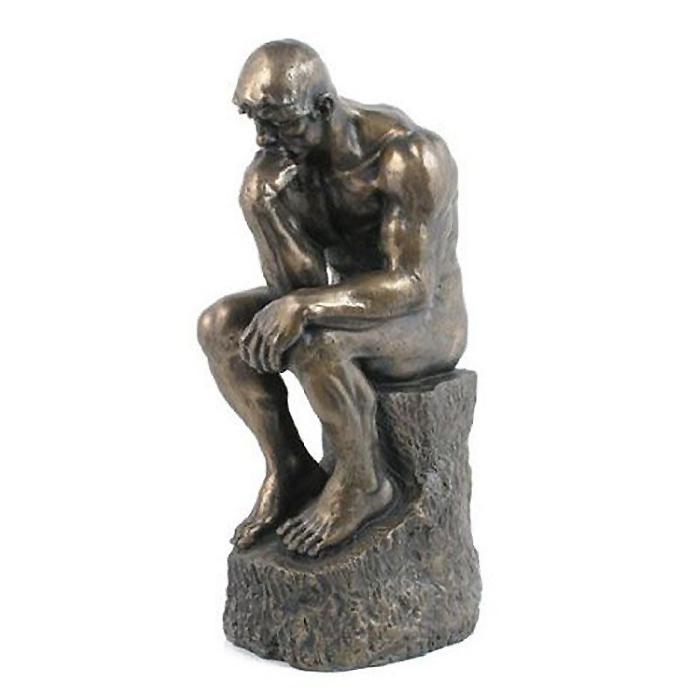 考える人 彫像 ロダン/ The Thinker Statue 8688