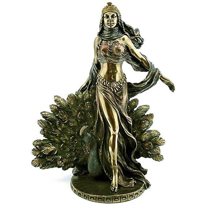 ヘラ と ピーコック(孔雀)ギリシャ神話/ Hera & Peacock Statue