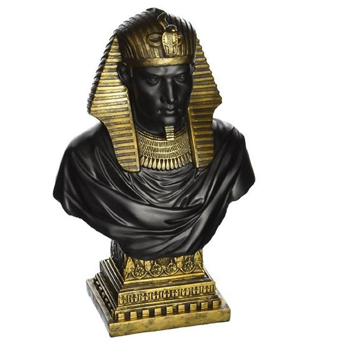 古代エジプト ファラオ ラムセス2世 胸像 美術品宝物 古代文明工芸(輸入品)