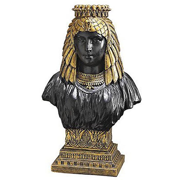 【古代エジプ女王 ネフェルティティ 胸像 美術品宝物 古代文明工芸(輸入品)