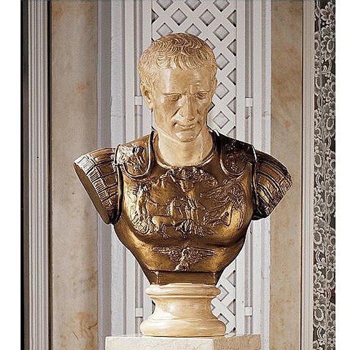 ジュリアス・シーザー 胸像/ Julius Caesar Sculpture (輸入品)