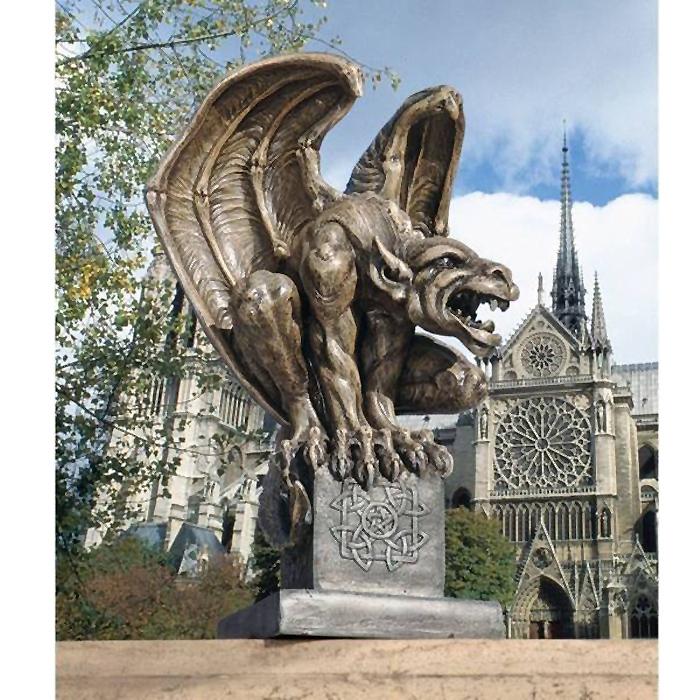 デザイン・トスカノ製 アバドン 地獄(破滅)のガーゴイル像 彫像 置物 彫刻 / Abbadon Gargoyle Statue(輸入品