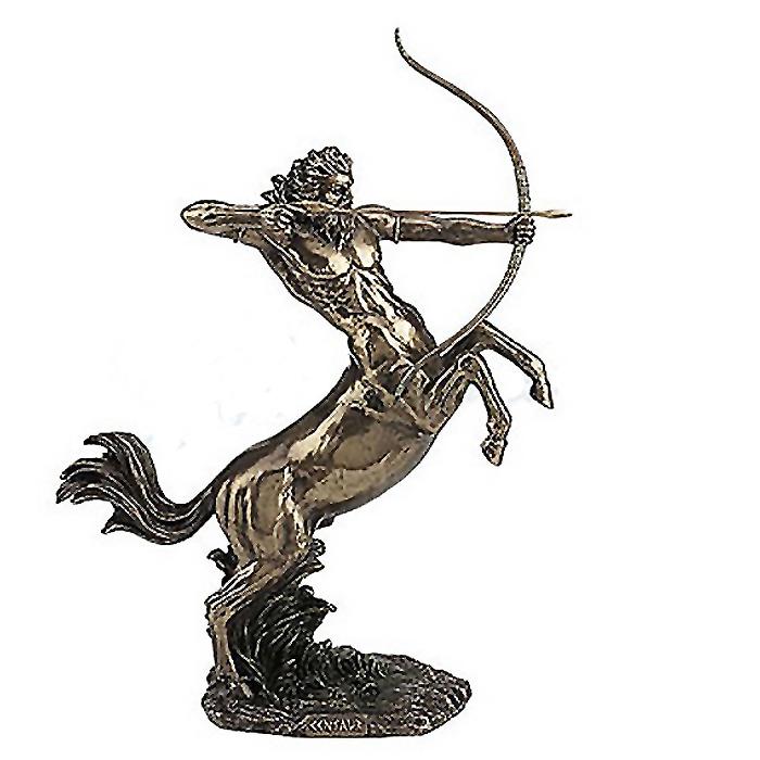 弓を射る ケンタウロス像 古代ギリシャ神話 彫刻 彫像 高さ約37cm/ Centaur Shooting Arrow (輸入品)