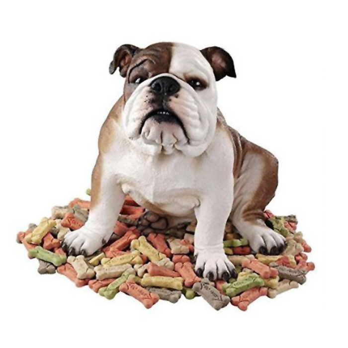 (破壊屋)バスター・ザ・ブルドッグ 彫像 彫刻 デザイン・トスカノ製/ Design Toscano Buster the Bulldog Sculpture(輸入品