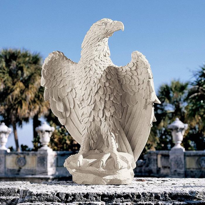 米国国鳥 アメリカン・イーグル(白頭鷲) ワシ彫像 彫刻/ America's Eagle Sculpture(輸入品