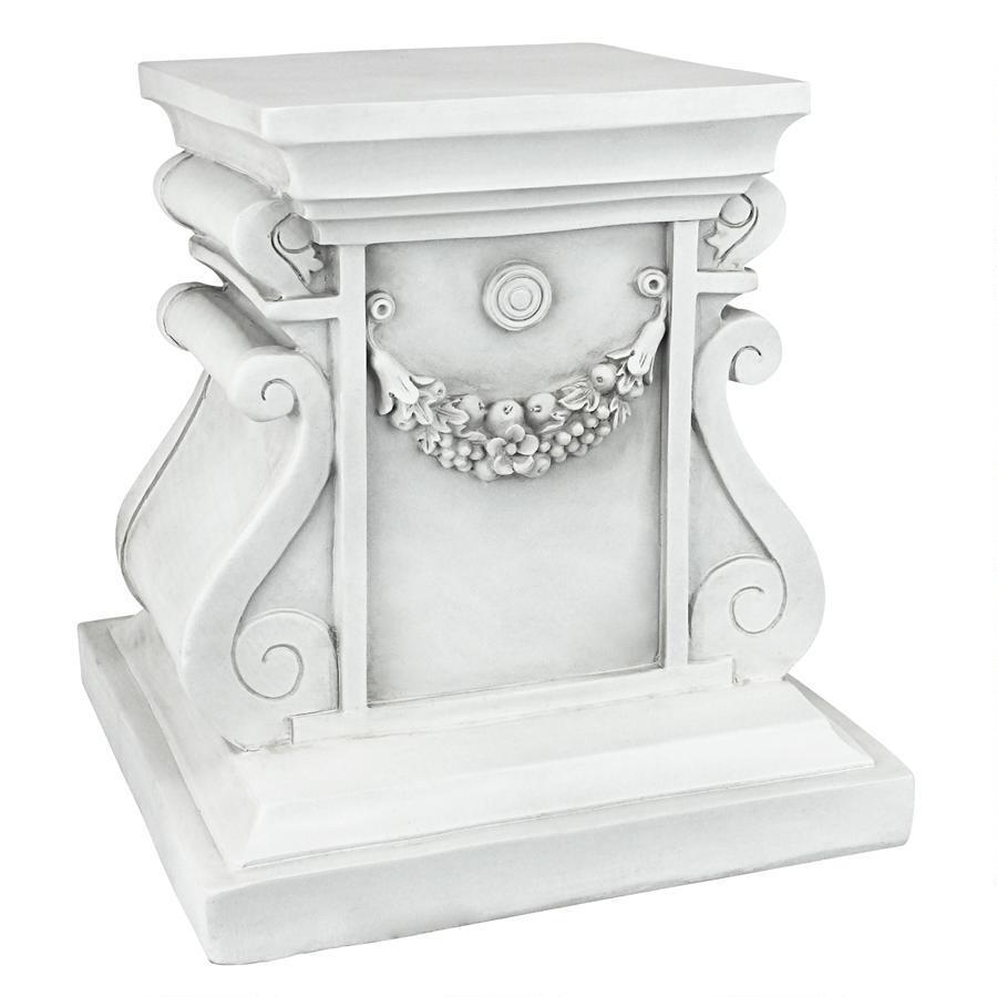 デザイン・トスカノ製 古代ギリシャ・ローマ風 古典的デザイン/ストーン風 台座ベース彫像 彫刻 モニュメント ミディアム(輸入品
