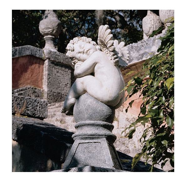夢見る子供の天使 ケルビム ガーデン彫像 彫刻/Design Toscano Balancing a Dream Cherub Garden Statue(輸入品
