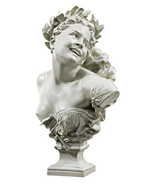 ダンスをする女性胸像彫刻 彫像 オペラ座ファザードに設置 1869年/Mademoiselle de la Danse Sculpture[輸入品