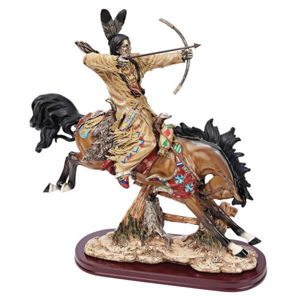 狩猟するインディアン アメリカ先住民 彫像 彫刻/ Design Toscano On The Hunt Native American Statue(輸入品