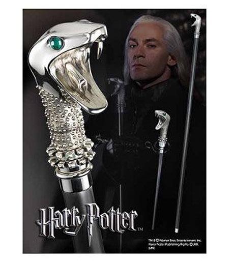 ハリーポッター ルシウス・マルフォイ専用ステッキ&魔法の杖レプリカ /Lucius Malfoy's Walking Stick(輸入品