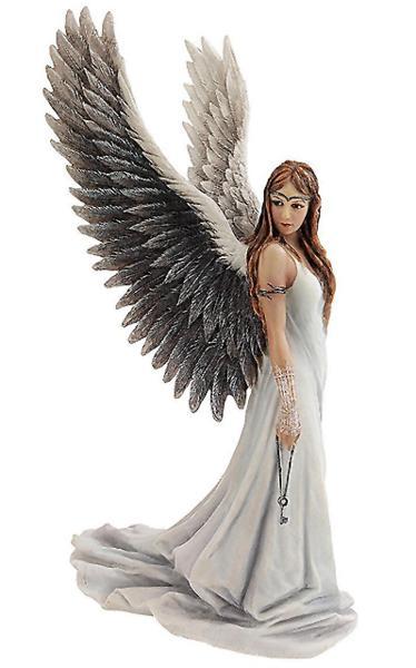 魂を導く 白い天使 彫像! 救済の天使 彫像 彫刻 高さ 約24cm/ Spirit Guide Angel Statue[輸入品