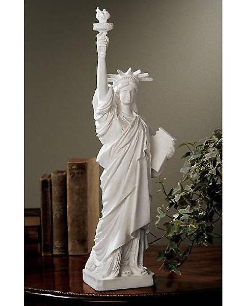 ニューヨーク 自由の女神 大理石風 彫像/ Design Toscano PD1906 Liberty Enlightening the World Sculpture 輸入品