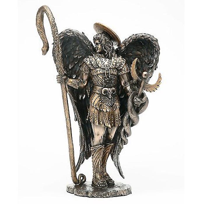 癒しを司る聖天使ラファエルの彫像/ SAINT RAPHAEL THE HEALER STATUE ARCHANGEL(輸入品