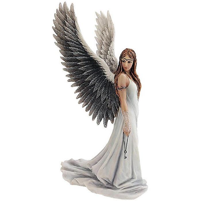 精霊を導く天使(エンジェル) フルカラー 彫像/ Spirit Guide Angel Statue, Full Color(輸入品