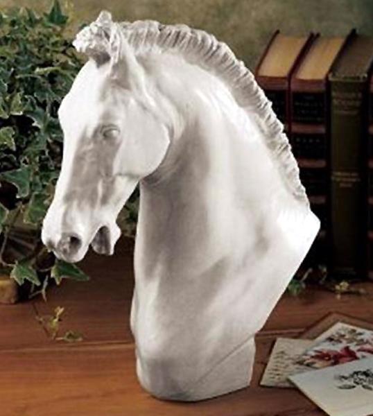 トゥーリーノの 馬の頭部 彫刻(彫像)18世紀イタリア彫刻 / Horse of Turino Sculpture(輸入品