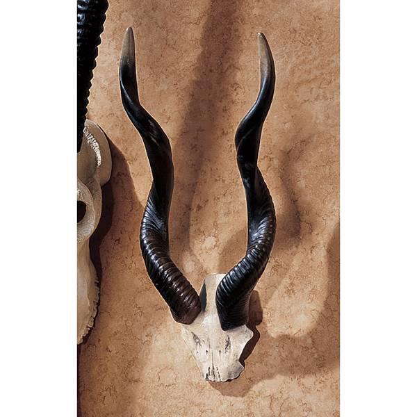 アフリカ クーズー 牛角 壁掛けハンティングトロフィー オブジェインテリア/Design Toscano Kudu African Wall Trophy(輸入品