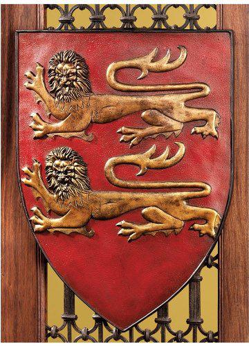 グランドシールド オブ フランス ウォールシールドコレクション - ウィリアム オブ ノルマンディー公のシールド(楯) 彫刻 彫像 中世ヨーロッパ 騎士 重装歩兵(輸入品)
