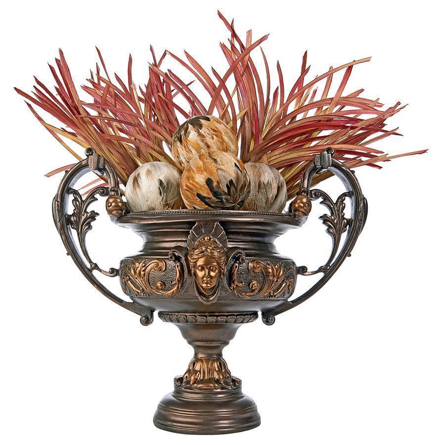 18世紀フランス風ロココ調コンポート・センターピース脚付き花瓶 彫像/ French Rococo Centerpiece Comport Urn(輸入品)