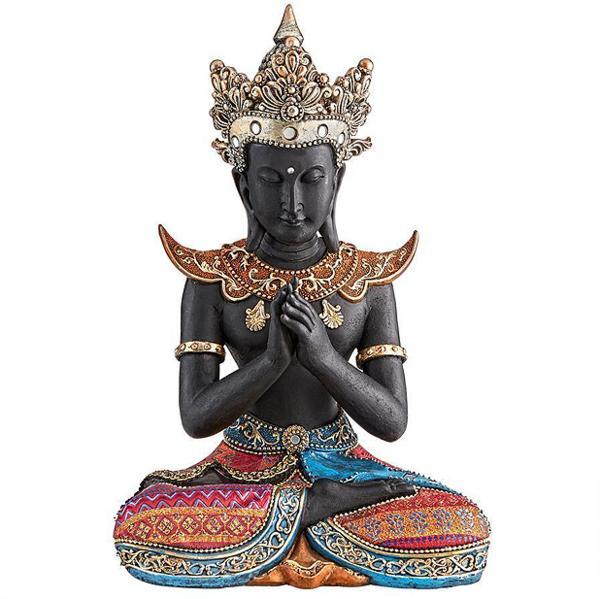 タイのスコタイ(スコータイ)王朝 仏像 彫刻 彫像/ Design Toscano Thai Sukhothai Buddha Asian Statue(輸入品)