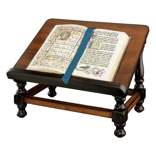 本の読書の為のアンティークな木製イーゼル型 ブックスタンド/ Design Toscano Antiquarian Wood Book Easel(輸入品)