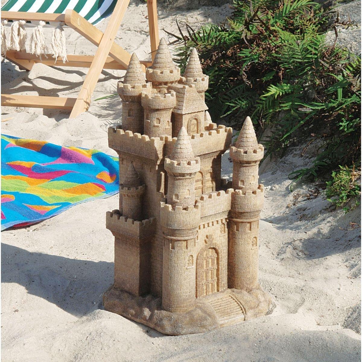 デザイン・トスカノ製 砂浜のお城 彫像 彫刻/Design Toscano Castle by the Sea Sculpture(輸入品