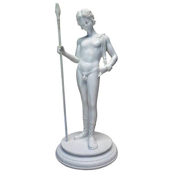 古代ギリシャ 豊穣の神 ディオニューソス 彫像 彫刻/ Dionysus Greek God of Fertility Bonded Marble Resin Statue, White(輸入品