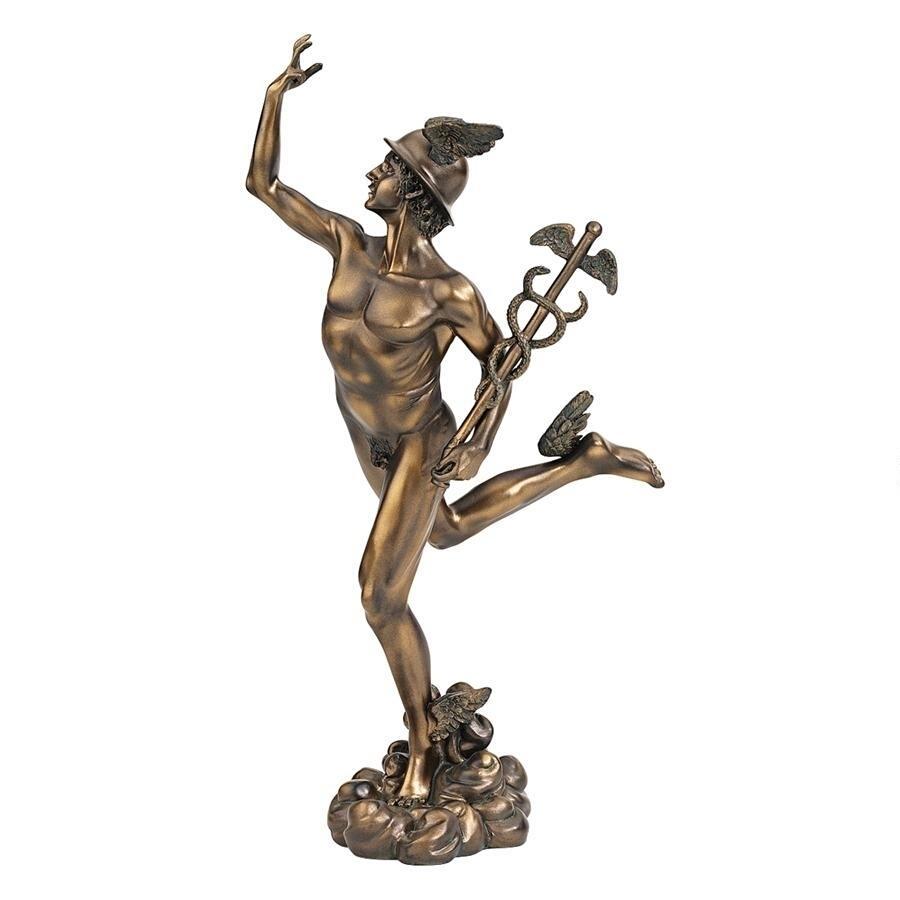 天翔けるマーキュリー 在庫限り ギリシャ ヘルメス エルメス神 彫刻 セール 特別価格 即納 彫像 バルジェロ美術館 輸入品 超歓迎された ジャンボローニャ作品 メルクリウス像