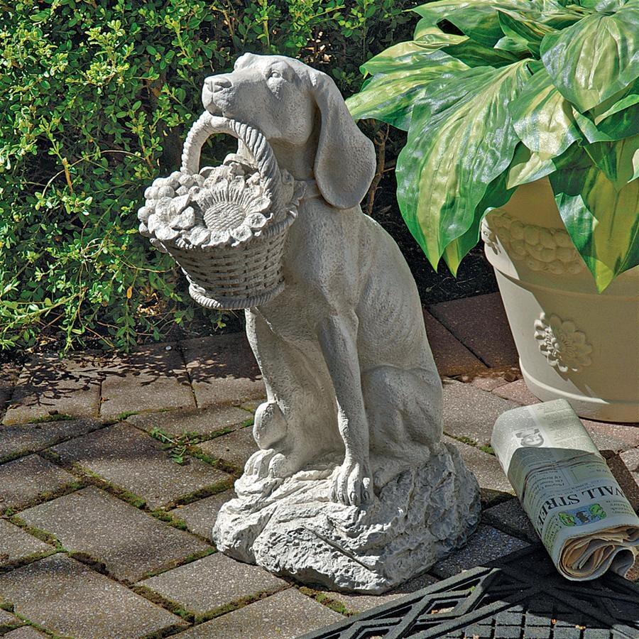 デザイン・トスカノ製 男のベスト・フレンド 犬の彫像 彫刻/ Design Toscano Man's Best Friend Dog Statue(輸入品)