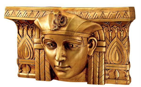ファラオ・ラムセスI世 エジプト 統治者 壁彫刻 彫像/ Design Toscano Pharaoh Rameses I Egyptian Ruler Wall Sculpture(輸入品)