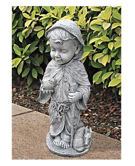子どもの聖フランチェスコ(聖フランシスコ)彫像 彫刻 高さ 約61cmオブジェ/ Design Toscano Baby Saint Francis Statue(輸入品)