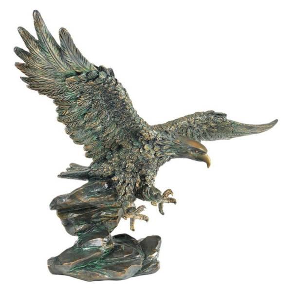 勝利の鷹(ハンティング・イーグル) サミュエル・ライトフット作 彫刻 彫像 置物/ Victory's Eagle Sculpture (輸入品)