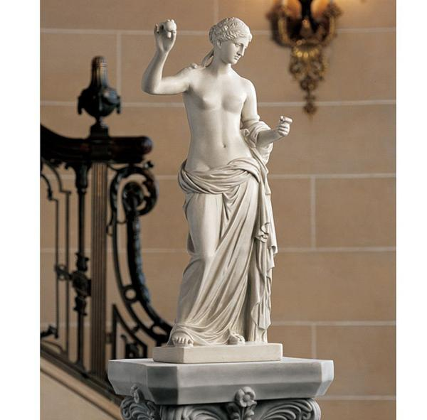 アルルのヴィーナス 彫像 彫刻高さ約60cm/ Design Toscano Venus of Arles Gallery Sculpture in Faux Stone(輸入品