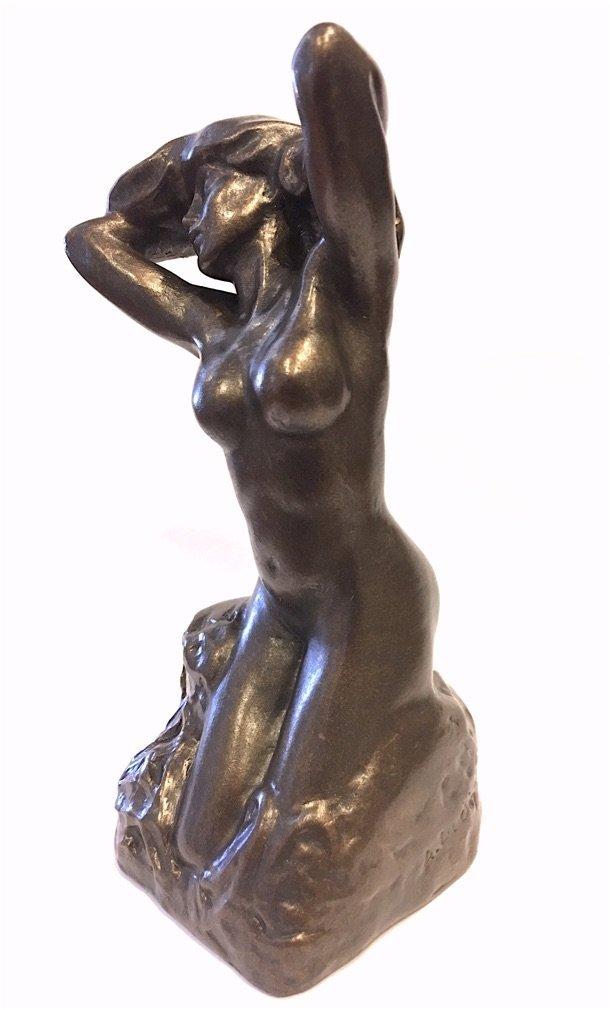 ロダン作 - トワレ・ド・ヴィーナス(ビーナス) ブロンズ風 彫像 彫刻//Rodin - Bronze Statue - Toilette de Venus (1885(輸入品